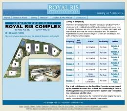 Royal Ris website screenshot