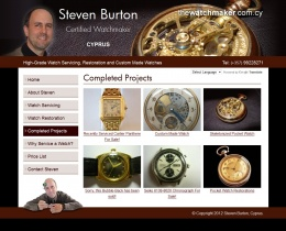 watchmaker-website