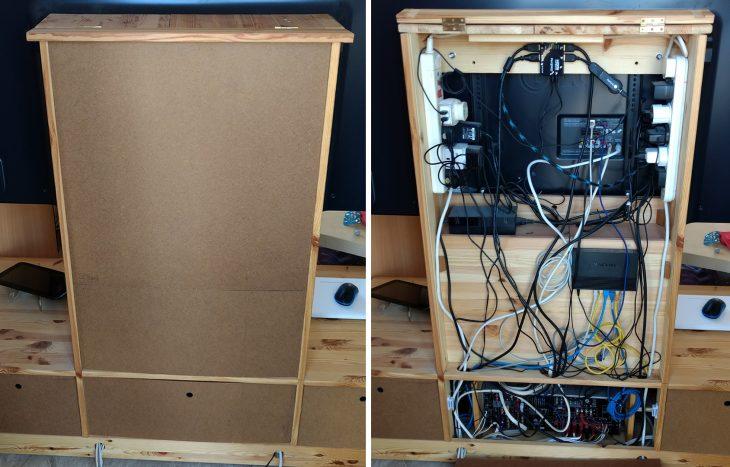 My custom made TV cabinet