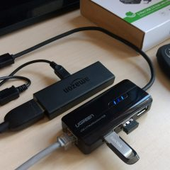 Wired Ethernet Adapter On A Fire Tv Stick